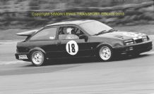 "Ford Sierra Cosworth Gerry Marshall Thundersaloon  Brands Hatch 1987 7x5"" photo"